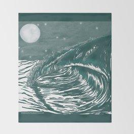 Dream Wave Zentangle Throw Blanket