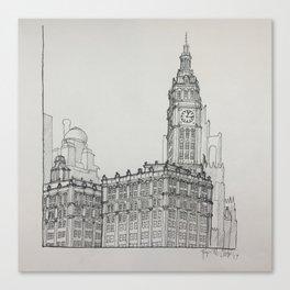 Chicago - Wrigley Building Canvas Print