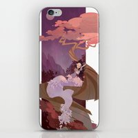snow white iPhone & iPod Skins featuring Snow White by Ann Marcellino