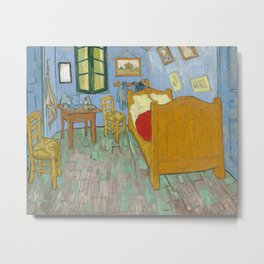 Vincent van Gogh - The Bedroom in Arles Metal Print