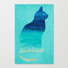SEA CAT Canvas Print