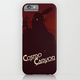 Final Fantasy VII - Cosmo Canyon Tribute iPhone Case