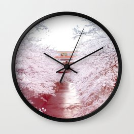Sakura Tree Wall Clock