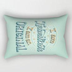 I am an original Rectangular Pillow