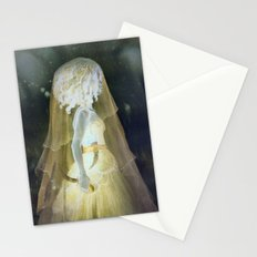 Castle of Kerglas, The Mysterious Woman, Inverted Version Stationery Cards