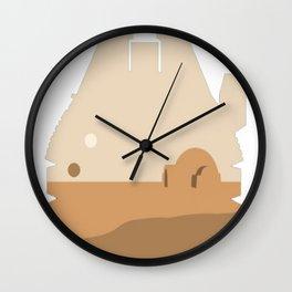 Desolation On Tatoo Wall Clock