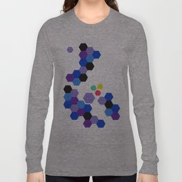 It's a Trap - A Study in Hexagons Long Sleeve T-shirt