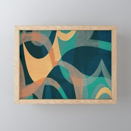 Lake Kaindy (Kazakhstan) Framed Mini Art Print