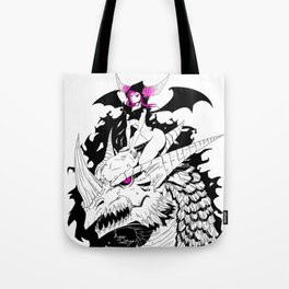 Dragon Summoner Tote Bag