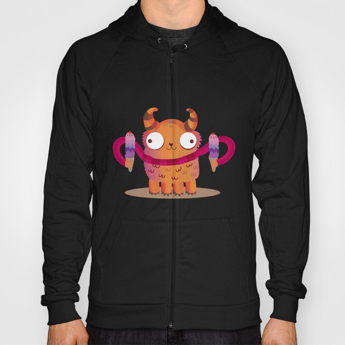 Icecream monster Hoody