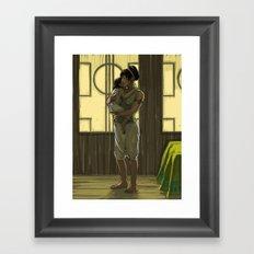 Momma Toph Framed Art Print