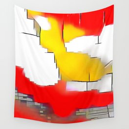 Abstract #13 Wall Tapestry