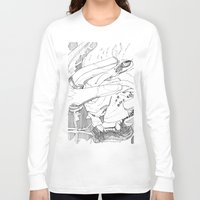introvert Long Sleeve T-shirts featuring Wild Introvert by BERLIN_D_P