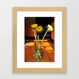 Three Suns For You Framed Art Print