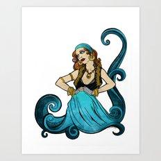 Water Dancer Art Print