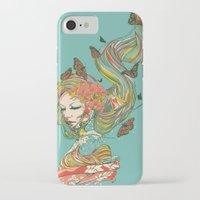geisha iPhone & iPod Cases featuring Geisha by Huebucket
