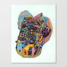 Circle of Friends Canvas Print