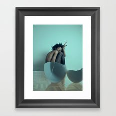 Break Out My Shell Framed Art Print