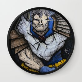 Cable of the New Mutants Wall Clock