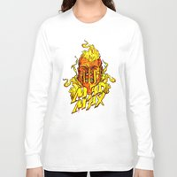 mad Long Sleeve T-shirts featuring Mad by Demonigote