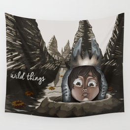 Wild Things Wall Tapestry