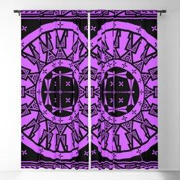 Ancestors (Black Lavender) Blackout Curtain