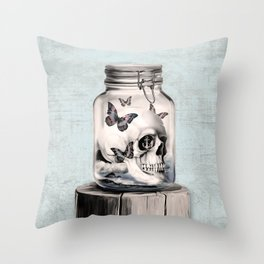 Lost thoughts Throw Pillow