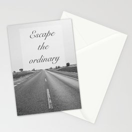 """EXCLUSIVE SERIES"" Escape the ordinary Stationery Cards"