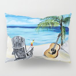 Beach Time with Martin Pillow Sham