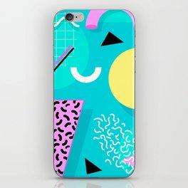 Memphis iPhone Skin