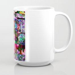 Vertical Floral Coffee Mug