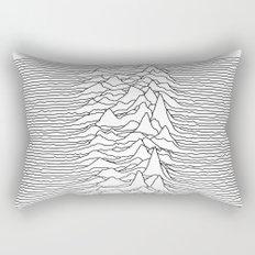 Unknown Pleasures - White Rectangular Pillow