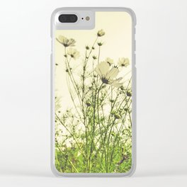 Field of Flowers 12 Clear iPhone Case