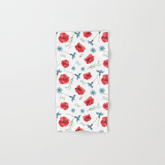 Summer field patterns Hand & Bath Towel