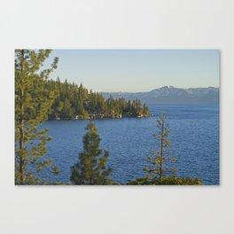 Trees + Tahoe III Canvas Print