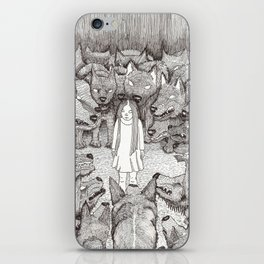 """""""I will not let her see me like this."""" iPhone Skin"""