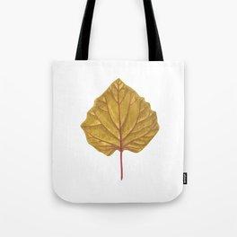 Goldenberry leaf Tote Bag