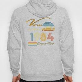 Vintage 1984, 36th Birthday Gift Hoody