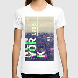 NEW YORK (GLITCH CITY #000) T-shirt
