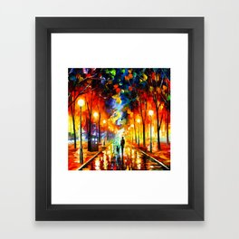 Tardis Art And The Light Street Framed Art Print
