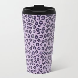 Pink cheetah Travel Mug