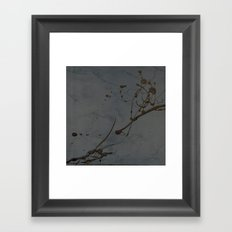 Jackson Pollock Inspired Study In Black - Glam Framed Art Print