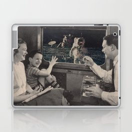 Great view of the moon Laptop & iPad Skin