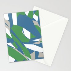 Hastings Zoom Green Stationery Cards