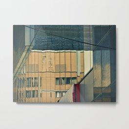 City by Jen-François Dupuis Metal Print