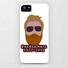 Ryan Dunn iPhone Case