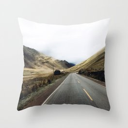Peruvian adventures. Throw Pillow