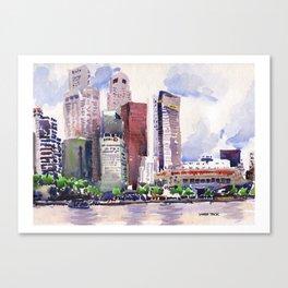20140318 Cityscape Canvas Print