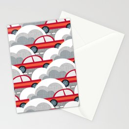Papercut Cars Stationery Cards