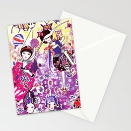 The case of purple spot sickness Stationery Cards